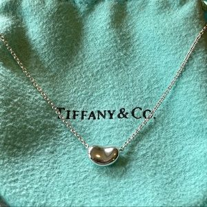 Tiffany & Co. Elsa Peretti Bean Design Necklace